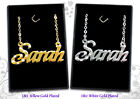 18ct/18k Name Necklaces Custom Gold Plated Jewellery Arabic Gifts Pendant Eid