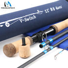Maxcatch Switch Rod 4/5/6/7/8/9WT Fly Fishing Rod With Switchable Fighting Butt