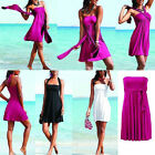 Women Bikini Cover Up Wrap Swimwear Beach Monokini Swim Sarong Dress Swimdress
