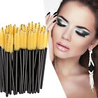 100Pcs Eyelash Brush Disposable Mascara Wands Applicator Spoolers Makeup Beauty