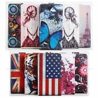 "Chic Flip Slim Painted Pattened PU Leather Case Cover For 5"" Oukitel K4000 Phone"