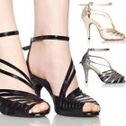 Negative Profit Women's Shoes High Heel Latin Satin Ballroom Salsa Dance Shoes