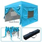 Upgraded Quictent 10X10 EZ Pop Up Canopy Gazebo Party Tent with Sides-8 Colors