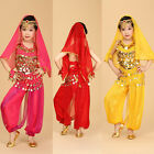 Belly Dancing Kids Belly Dance Costume Children Dancing Indian Cloth Stage Wear