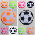 iron on patch soccer ball select color