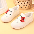 NEW Children Kids Girl White Sports Sneakers Tennis Casual Shoes