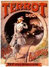 A3/ A4 Size - TERROT DIJON CYCLES MOTOCYCLES VINTAGE ART POSTER # 4