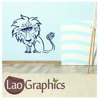 Leo The Lion Cute Kids Wall Art Sticker Large Vinyl Transfer Graphic Decal bn23