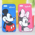 Mickey & Minnie Mouse Cartoon Dual Back Case & Front Cover For Apple iPhone 5 5S