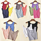 Women's Sleeveless Tank Tops Cami Sleeveless T-Shirt Summer Vest Crop Top Blouse