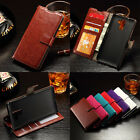 Retro PU Leather Photo Wallet Card Flip Stand Phone Case Cover For Huawei Honor7
