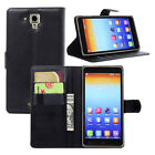 Luxury Card Wallet PU Leather Case Stand Cover Skin Holder For Lenovo S8 S898T