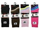 12 Ladies Plain LYCRA® Cotton Rich EVERYDAY Socks UK 4-6