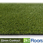 Artificial Grass, Quality Astro Turf, Cheap, Realistic Natural Garden 32mm Lawn