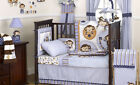coCalo Baby Bedding Crib Cot Bumpers Lamp Pillow Case Set Monkey Mayhem