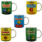 Harvey Makin - MINISTRY OF CHAPS NOVELTY MUG - Choose Your Design