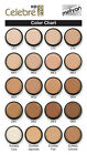Mehron Celebre Pro HD Cream Foundation Tester Approx 3-4ml Samples-Select Shade
