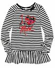 Deux par Deux Girls' Striped Jersey Tunic Music Hall, Sizes 7-12