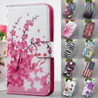 For Many Smart Phone Magnet Wallet PU Leather Stand Flip Cover Case + 2 Gift