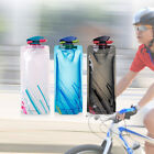 3/6PCS Bicycle Water Bottles Collapsible Foldable Reusable Hiking Cycling 700ML