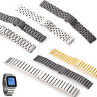 KR-NET 22mm Stainless Steel Metal Watch Band Strap for Pebble Time Steel US