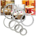 Aluminium Lazy Susan Swivel Bearing Turntable Table Plate 5 8 10 12 16 18 ''  UK
