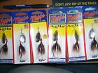 Mepps Aglia Spinner Size 2 SILVER 1/6 oz. B2ST- S-BR Lot of 6