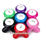 Mini Wave Vibrating Massager Electric Handled Battery USB Massage HOT Multicolor