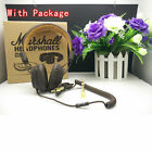 100% Marshall Major Headphones Noise Cancelling Deep Bass Remote Mic headset
