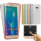 Shockproof TPU 360° Protective Clear Rubber Case Cover For Samsung Galaxy Phones