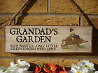 PERSONALISED GARDEN SIGN GIFTS FOR GRANDAD GIFTS FOR GRANDMA PLANTS FLOWERS SIGN