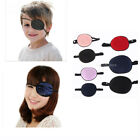 Smooth Silk Pirate Eye Patch Eyeshade Fancy Costume Prop for Adult/Kids Lazy Eye