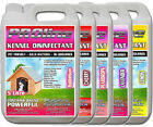 Pet Kennel Disinfectant Multiple Mix and Match Choose 4 Fragrances Pack 4x5ltr