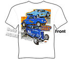 Vintage Drag Racing T Shirt 41 Willys Ford Legends Of Past Tee Sz M L XL 2XL 3XL