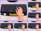 NFL Licensed Football Computer Keyboard Gel Pad Wrist Rest Support - Choose Team