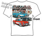 63-67 Stingray Corvette Apparel 56 57 58 59 Classic Car Tshirt Sz M L XL 2XL 3XL