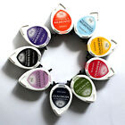 TSUKINEKO Memento Dew Drop Dye Ink Pad Rubber Stamp Fast Drying Colour Choices