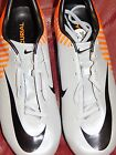 Mens shoes soccer cleats Nike Mercurial Miracle $150+ White black new 6.5 9 12