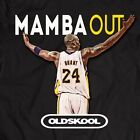 KOBE BRYANT FAREWELL MAMBA OUT **OLD SKOOL**  Mens T-Shirt *MANY OPTIONS*