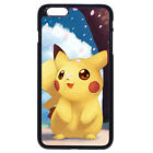 Pokemon Pikachu Cherry For iPhone 4S 5 5S SE 5C 6/6S 7 Plus iPod Touc 4 5 6 Case