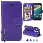 Madcase Premium Leather PU Wallet Kickstand case Cover for LG Google Nexus 5X