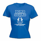 Bomb Squad Running Try To Keep Up WOMENS T-SHIRT Humour Funny Gift birthday