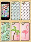PINK FLAMINGO CLIP ON MOBILE PHONE COVER/SKIN