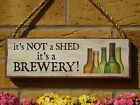 PERSONALISED GARDEN SIGN SHED SIGN BREWERY HOME BREWING BEER MAKING REAL ALES