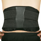 New Back Support Brace Belt Double Pull Pain Relief Adjustable