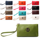 Ladies Small Multi Pocket Cross Body Bag Purse Wallet