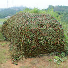 1.5Mx 7M Hunting Camping Army Woodlands Camouflage Camo Net Netting Hide Cover