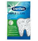 DenTek - Triple Clean Floss Picks - 90 per pack - Mouthwash Blast - Free P&P