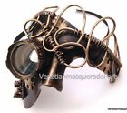 Steampunk Puzzle Goggle Pipe Phantom eye Mask Halloween Costume Warrior Soldiers