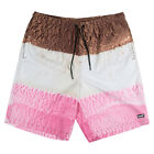 "Neff ""Neopolitan"" Hot Tub Shorts (Ice Cream) Men's Boardshort Swim Trunks"